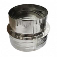 Переход 200х150 AISI 430 нержавеющая сталь 0,5 мм