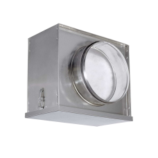 FBCr 250 Воздушный фильтр-бокс с фильтром для круглых воздуховодов