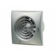 100 Квайт (Vents 100 Quiet) алюминий лак осевой накладной вентилятор с о/клапаном