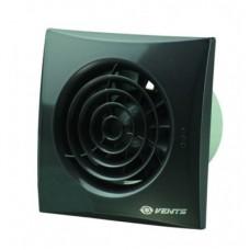 100 Квайт (Vents 100 Quiet) черный сапфир осевой накладной вентилятор с о/клапаном