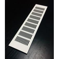 RA 640 решетка 60х400 белая декоративная
