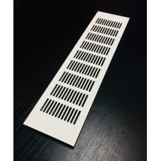 RA1050 решетка100х500 белая декоративная