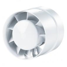 125 ВКО турбо Вентс бытовой вентилятор канальный осевой пластик