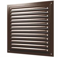 1515МЭ коричневая металлическая решетка накладная