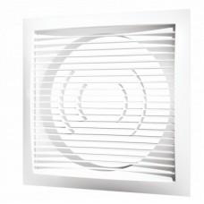 1515РС10Ф Решетка вентиляционная 150х150 с фланцем D100