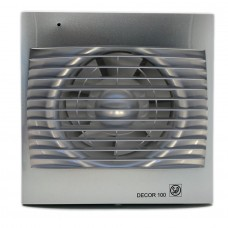 Decor 100C Silver вентилятор накладной
