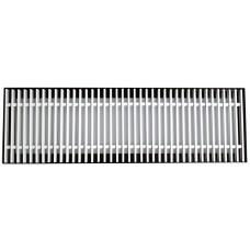 АРРН 300х150 алюминиевая решетка рулонная напольная