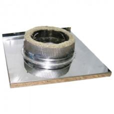 Площадка монтажная 160х230 сэндвич из нержавеющей стали AISI 409 1 мм