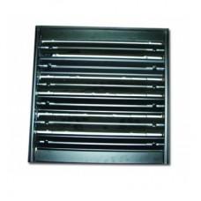 4C 300х300 клапан алюминиевый к потолочным решеткам 4VA 600х600