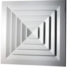 4VA 600х600 алюминиевые решетки потолочной установки