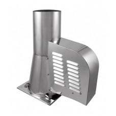 STANDARD d200 мм Дымосос нержавеющая сталь для керамических дымоходов
