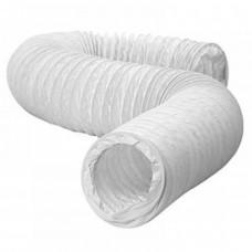 DEC PVC WHITE 127 гибкий полимерный воздуховод 15м