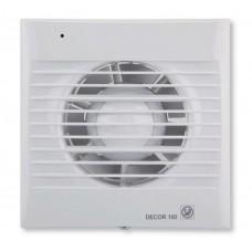Decor 100CH вентилятор накладной с датчиком влажности