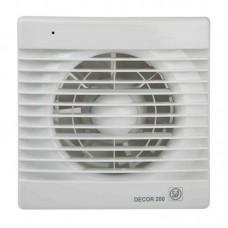 Decor 200CR вентилятор накладной с таймером