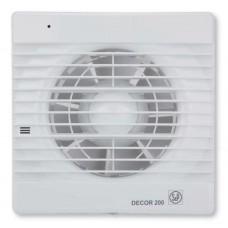 Decor 200CH вентилятор накладной с датчиком влажности