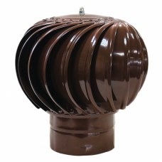 ТД-115 оцинкованный коричневый турбодефлектор вращающийся