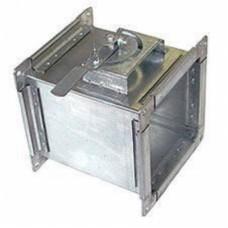 ДКП 400х400 дроссельный клапан прямоугольный из оцинкованной стали