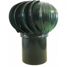 ТД-125 оцинкованный зеленый турбодефлектор вращающийся