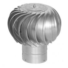 ТД-125 оцинкованный турбодефлектор вращающийся