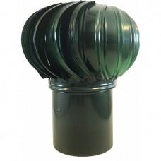 ТД-120 оцинкованный зеленый турбодефлектор вращающийся