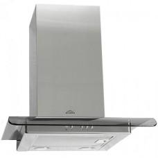Эликор Топаз 50 нержавейка тонированное стекло вытяжка кухонная
