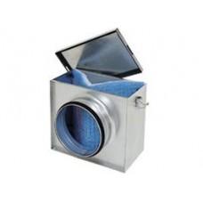 ФЛК 160 фильтр-бокс для круглых каналов с фильтроматериалом