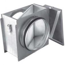 ФЛК 500 фильтр-бокс для круглых каналов с фильтроматериалом