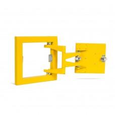 К (20х 20) люк «ФОРМАТ» с распашной дверцей