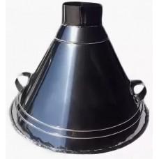 ЗВНК d400/h650 купольный для тандыра зонт вытяжной из нержавеющей стали