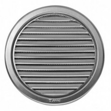 NVM d150 вентрешетка c сеткой круглая из нержавеющей стали