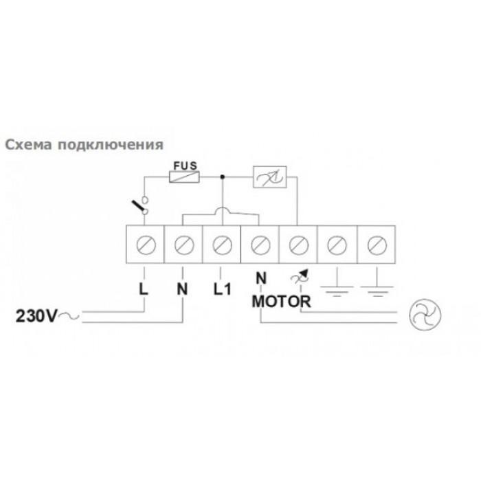 ARE 10.0 Однофазный симисторные регулятор скорости