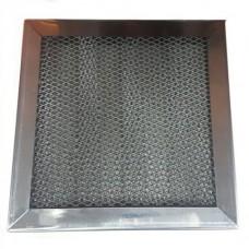 Кассета ЖУ 200х200х17-3 из нержавеющей стали AISI 430 жироулавливающая трехслойная ФВ 100, ФВ 125, ФВ 160