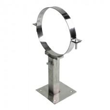 Хомут телескоп 80 для дымоходов