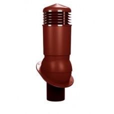 125/110 h500 изолированный красный К89-4 с проходным элементом для мягкой и фальцевой кровли