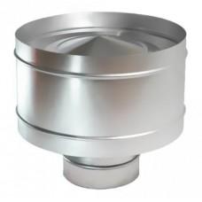 Дефлектор  80/160 нержавеющая и оцинкованная сталь