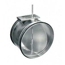 SKM 100 клапан (демпфер) перекрывающий для круглых канальных вентиляторов под электропривод