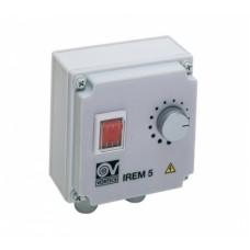 IREM 5 регулятор скорости плавный накладной для промышленных вентиляторов 1f