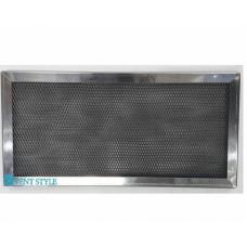 Кассета ЖУ 400х 200х17-3 из нержавеющей стали AISI 430 жироулавливающая трехслойная
