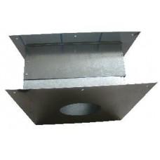 Короб ф130 оцинкованный сталь