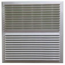 450x450 белая пластиковая вентиляционная решетка
