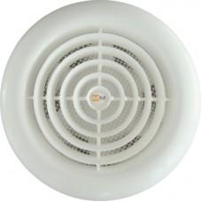 MM 100 круглый белый осевой вентилятор