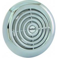 MM 100 круглый хром осевой вентилятор
