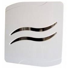 MM-P 03 волна белый Накладной вентилятор с обратным клапаном