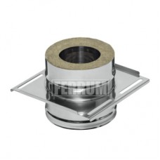 Площадка монтажная (430 + нерж.) Ф150х210 из нержавеющей стали стали 2мм