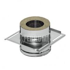 Площадка монтажная (430 + нерж.) Ф150х250 из нержавеющей стали стали 2мм