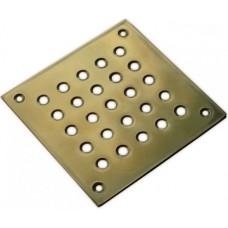 Решетка напольная 150x150 из латуни