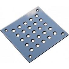 Решетка напольная 100x100 из нержавеющей стали