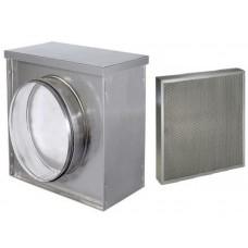 ФЖК 100 с кассетой 200х200х17/3 фильтр жироулавливающий круглый