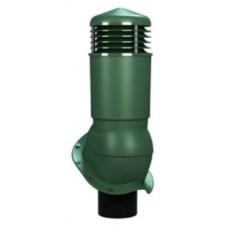125/110 h500 изолированный зеленый К95-5 с проходным элементом для кровли из металлочерепицы