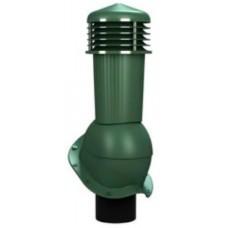 125/110 h500 неизолированный зеленый К94-5 с проходным элементом для кровли из металлочерепицы